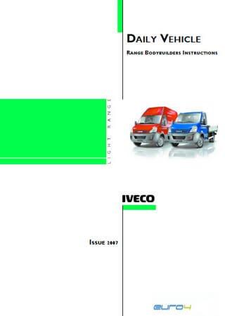 Техническое описание и инструкция по эксплуатации Iveco Daily 29L, 35S, 35C, 40C, 45C, 50C, 60C, 65C Euro 4