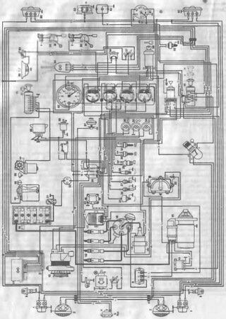 Электросхемы автомобилей УАЗ-452, УАЗ-469, УАЗ-31512, УАЗ-3741
