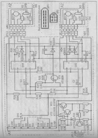 Электросхемы автомобиля ИЖ-2126 «Ода»