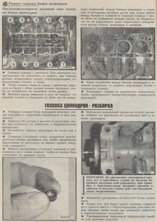 Руководство по ремонту двигателей Москвич-412 (2138, 2140, 21412, 214122, 214123), ИЖ-412 (21251, 2126, 2715, 2717)