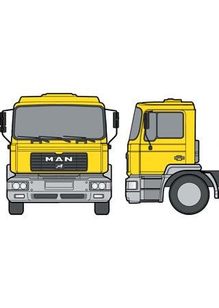 Instrukcja naprawy samochodów ciezarowych MAN M2000