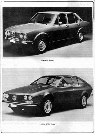 Service and repair manual for Alfa Romeo Alfetta / GTV (1973-1987)