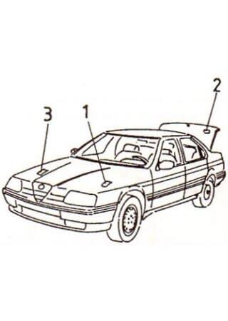 Service and repair manual for Alfa Romeo 164 (1987-1995)