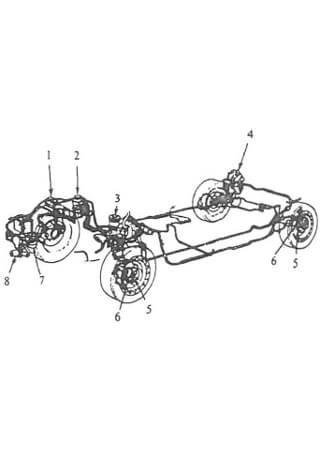 Instrukcja obsługi i naprawy minibusów Nissan Vanette, Urvan, Serena (1979-1993)