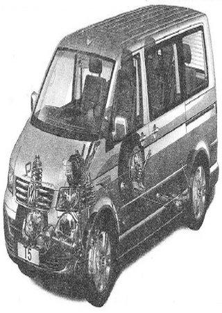 Руководство по обслуживанию и ремонту Volkswagen Transporter T5 (California, Caravelle, Multivan) (2003-)