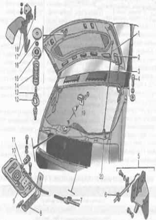 Руководство по обслуживанию и ремонту ГАЗ-2705, ГАЗ-2705 «Комби», ГАЗ-3221