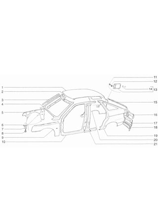 Katalog części do samochodów VAZ-2110, VAZ-2111, VAZ-2112