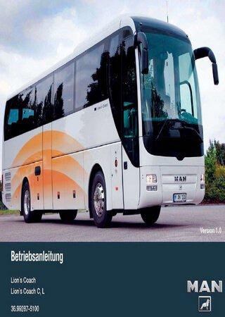 Руководство по эксплуатации автобусов MAN Lion's Coach C, L