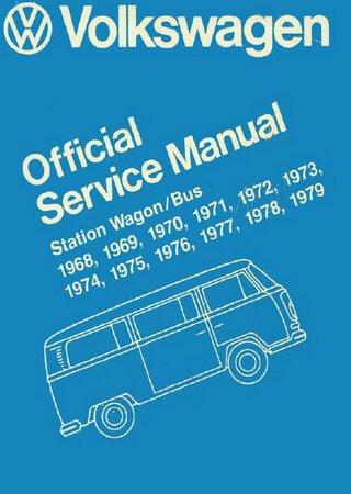 Руководство по обслуживанию Volkswagen Transporter T2