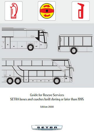 Техническое описание автобусов Setra S309, S312, S313, S315, S317, S319, S328, S411, S412, S415, S416, S417, S419, S431
