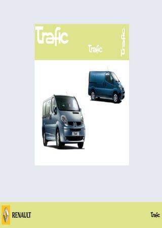 Руководство по эксплуатации автомобиля Renault Trafic II (Renault Trafic F83, J83, X83)