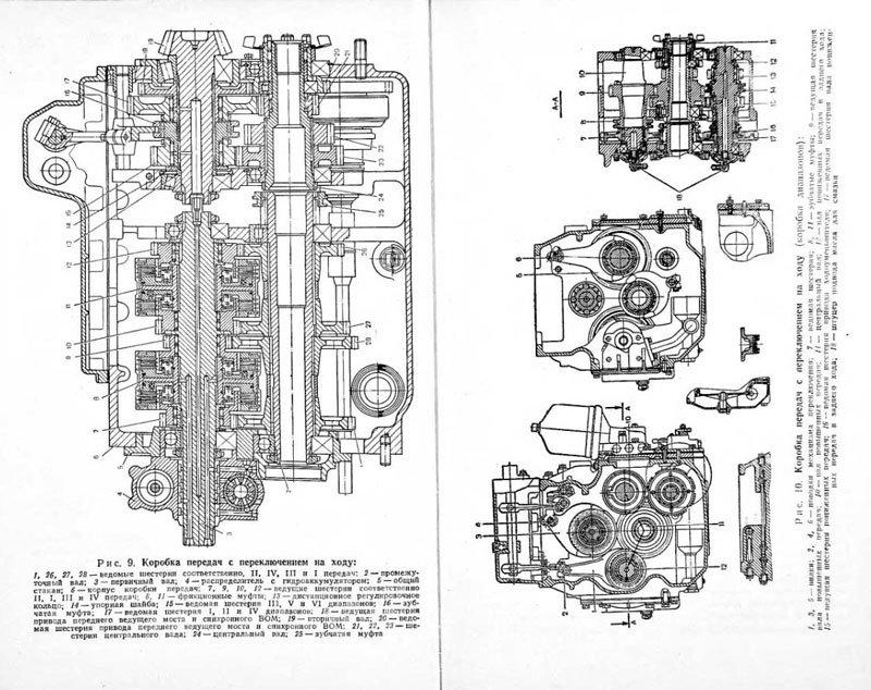 Схема коробки передач мтз 82.1